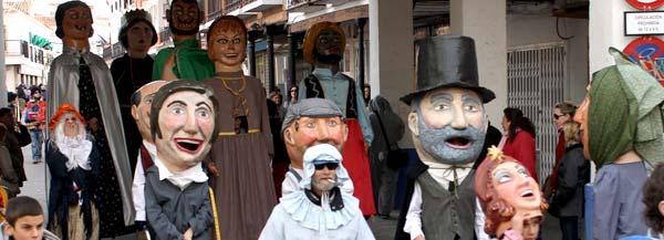 Pasacalles del carnaval de Herencia
