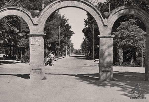Puerta del Parque municipal de Herencia