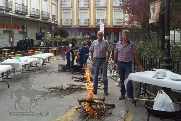II Fiesta de la vendimia en Herencia
