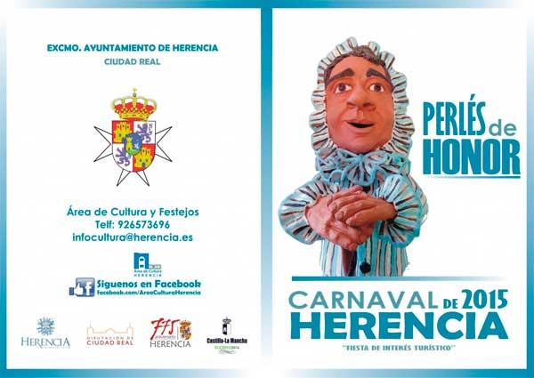 Perlés de Honor del Carnaval de Herencia 2015