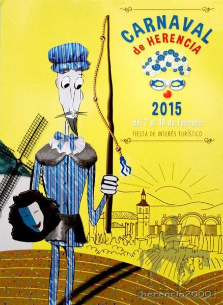 Cartel del Carnaval de Herencia 2015