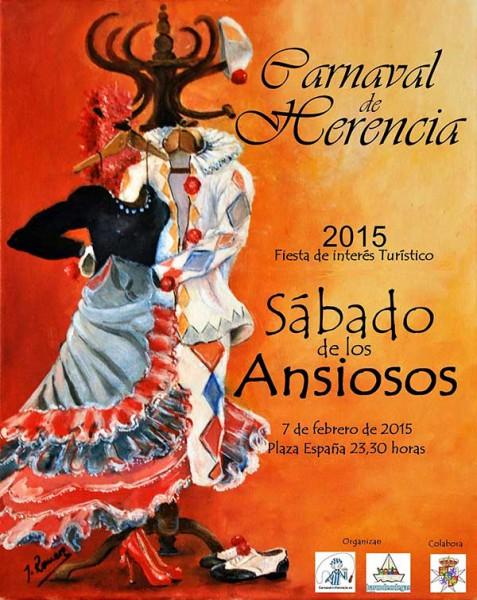 Cartel Sábado de los Ansiosos 2015 - Jesús Romero Núñez