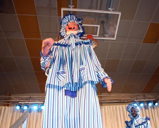 Perle gigante de los carnavales de Herencia