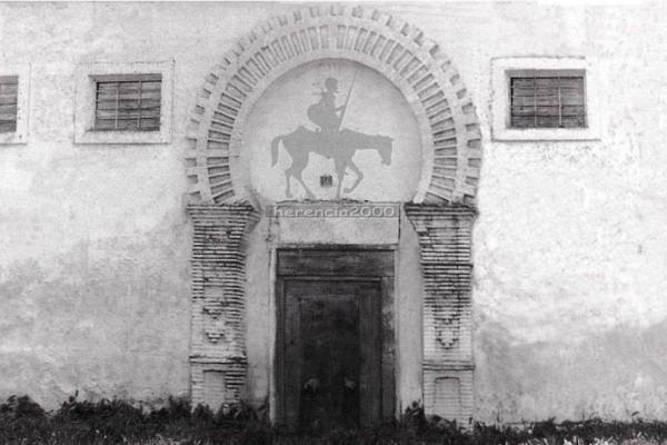 entrada de una antigua sinagoga