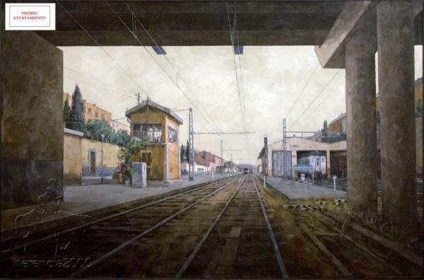"Cuadro ganador del XXXIII Certamen Nacional de Pintura ""Jesús Madero"" 2015"