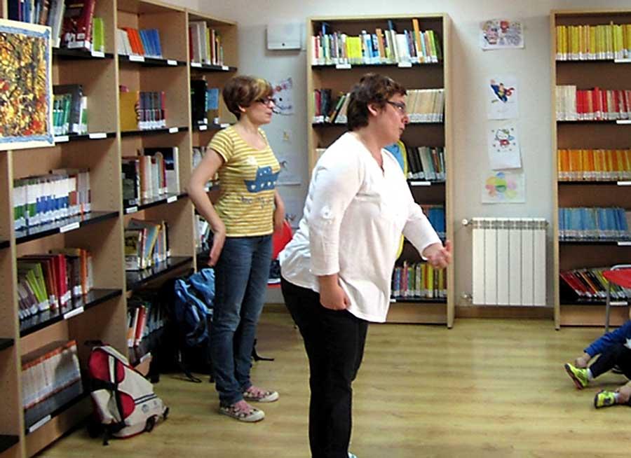 Cuentacuentos en la Biblioteca de Herencia (Ciudad Real)