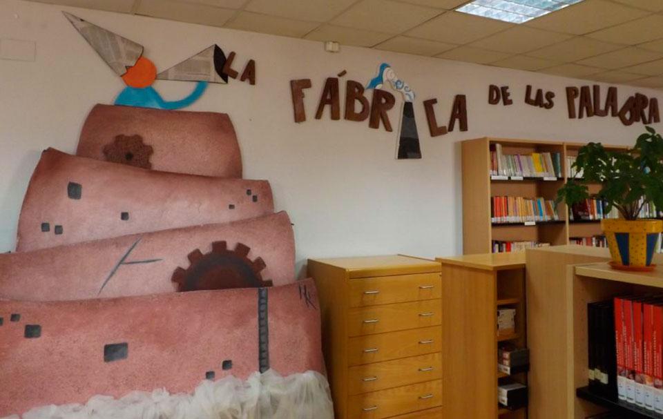 La fabrica de las palabras. Biblioteca Municipal de Herencia