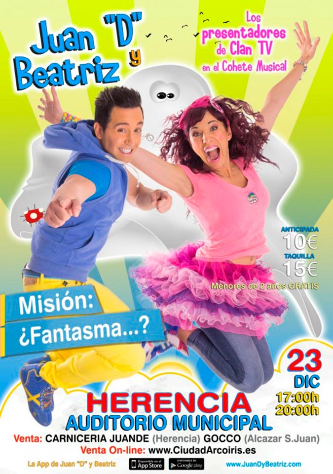 """Juan """"D"""" y Beatriz llegan a Herencia"""