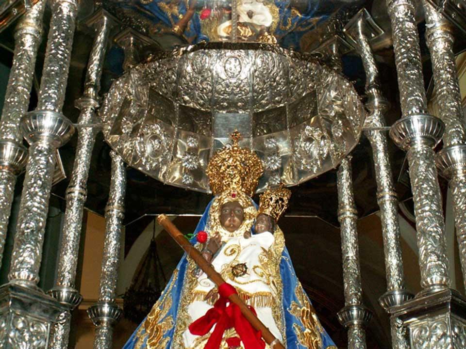 Imagen de la Virgen de la Cabeza de Herencia. Fotografía de Claro Manuel Fdez.-Caballero Martín-Buitrago