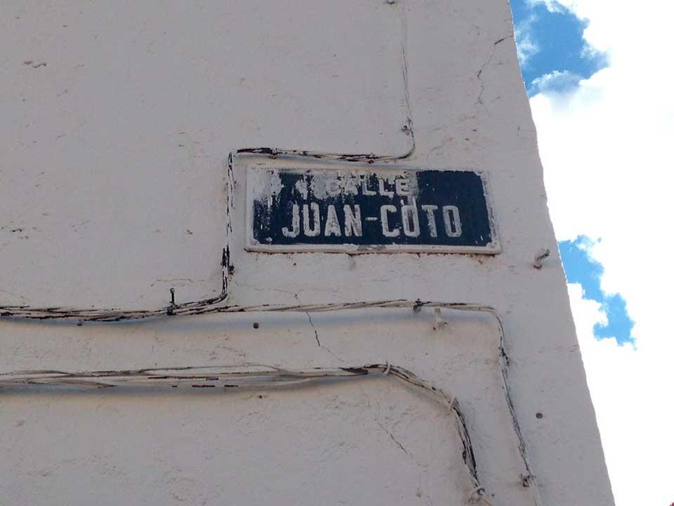Las calles de Herencia Juan Coto