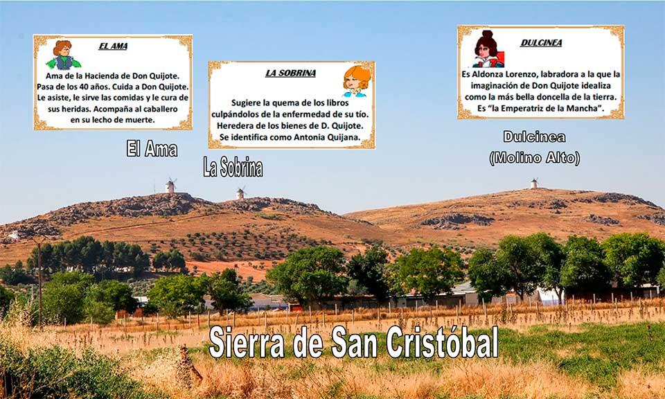 Molinos en la Sierra de San Cristóbal