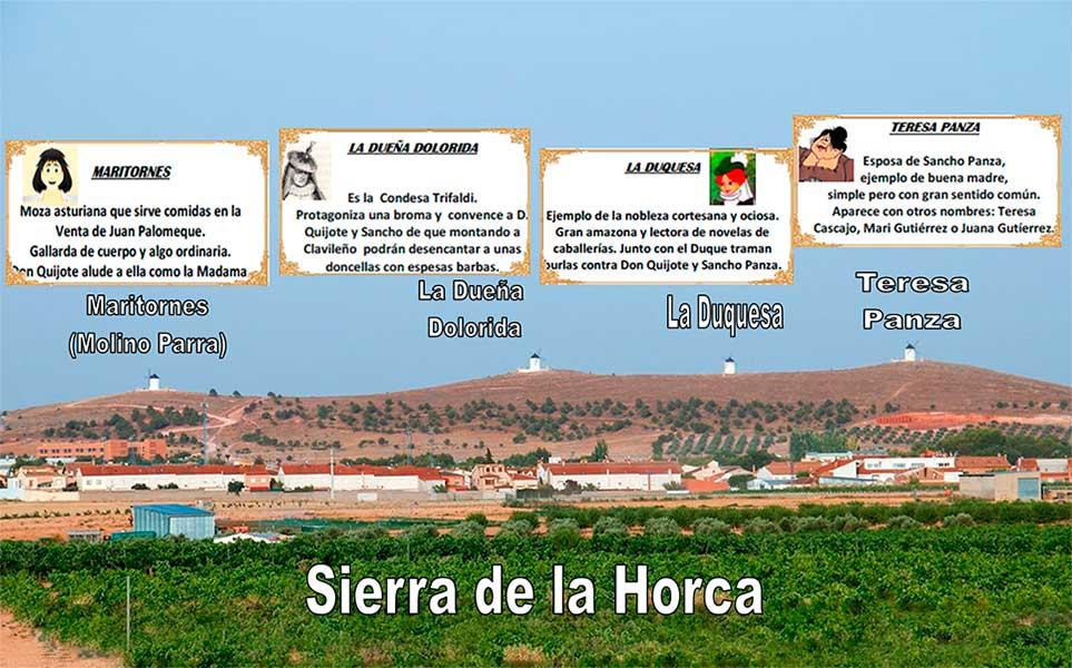 Molinos en la Sierra de la Horca